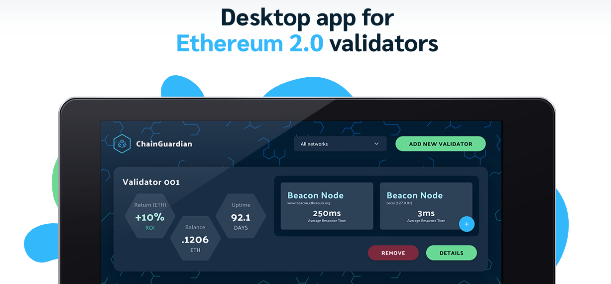 ChainGuardian app for Ethereum 2.0 validators is finally here! *beta release* image