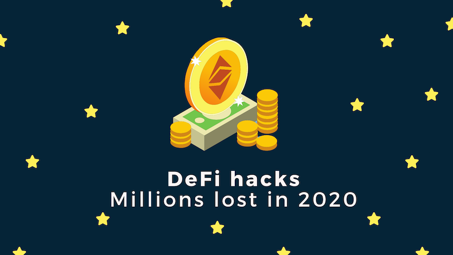 DeFi hacks - millions lost in 2020 image